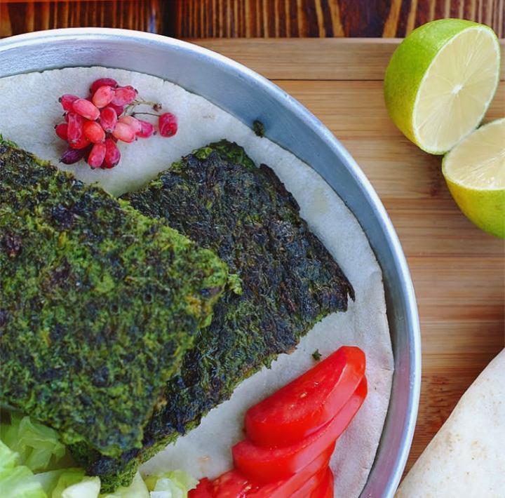 کوکو سبزی آماده
