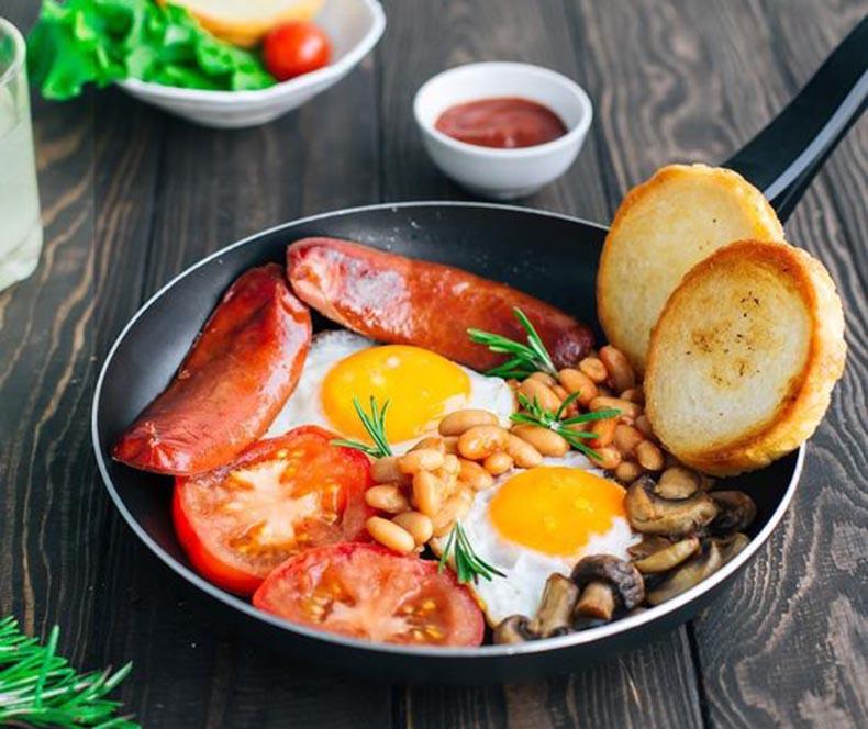 خوراک سوسیس
