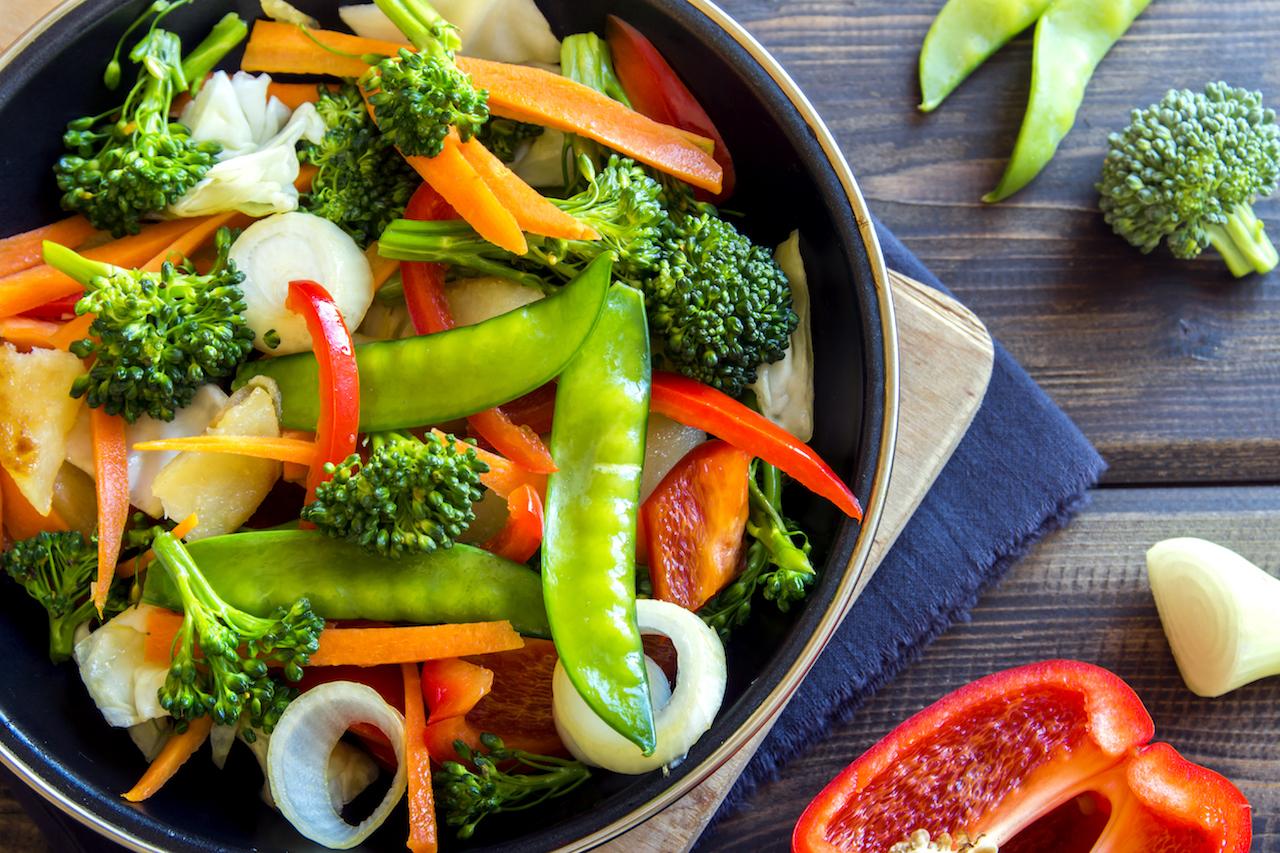 غذای حاضری بدون گوشت