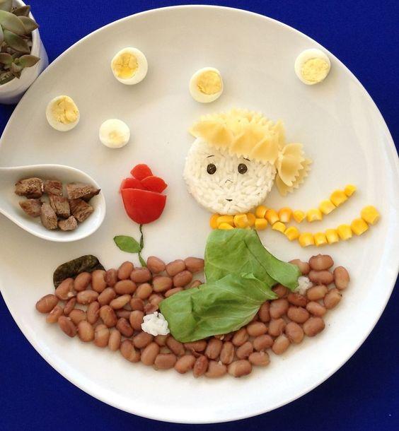 تزیین غذا برای کودکان