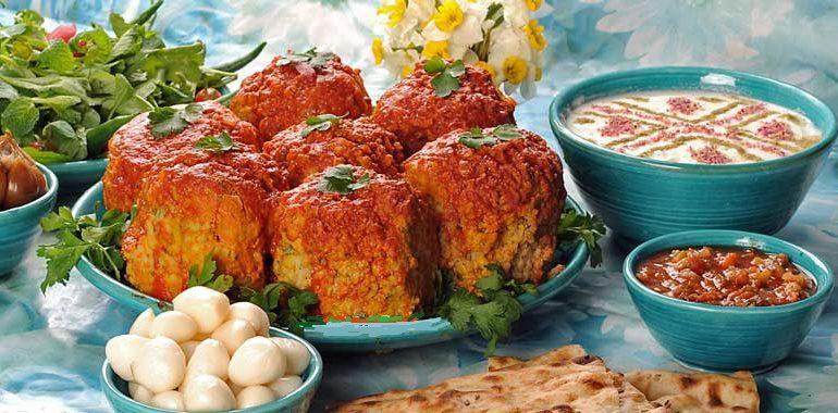دستور پخت کوفته تبریزی
