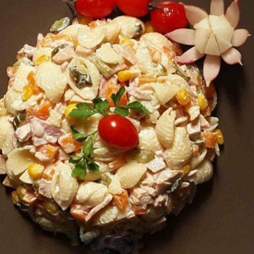 طرز پخت سالاد ماکارونی