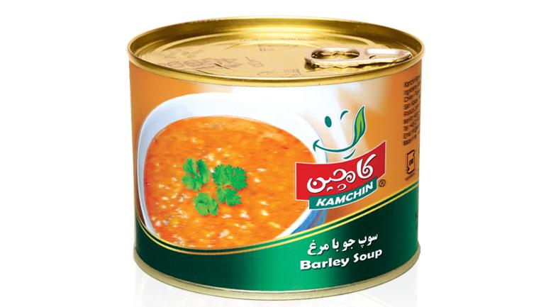 غذای رژیمی: سوپ جو با مرغ