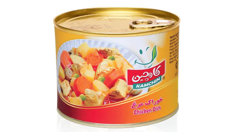غذای رژیمی: خوراک مرغ کامچین